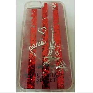 Victoria's Secret iPhone 6/6S  case glitter Red